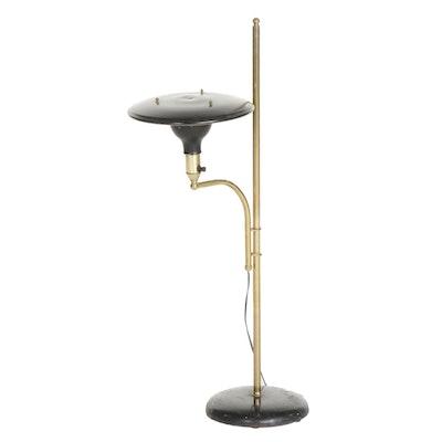 The Sight Light Corp. Mid Century Modern Brass Atomic Adjustable Floor Lamp