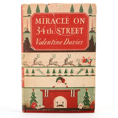 """Early Printing """"Miracle on 34th Street"""" by Valentine Davies, 1947"""