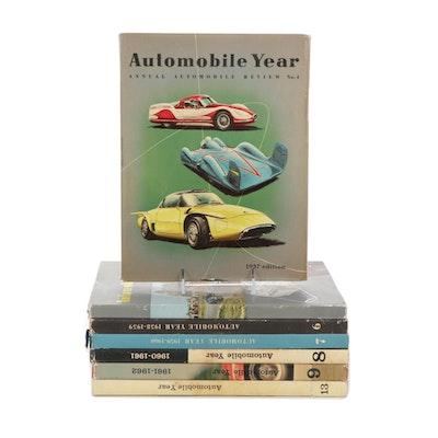 """Automobile Year"" Annual Automobile Periodicals, 1957–1966"