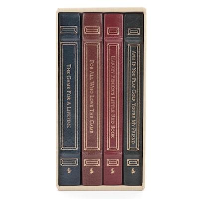 "Easton Press ""Game of Golf"" Series by Harvey Penick Four-Volume Box Set, 1996"