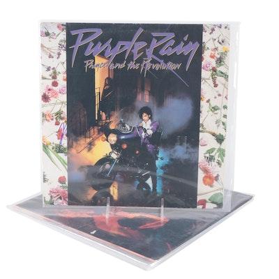 Prince, David Bowie, Madonna Signed Vinyl LP Record Albums
