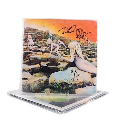 Led Zeppelin, Jeff Beck, Black Sabbath Signed Vinyl LP Record Albums