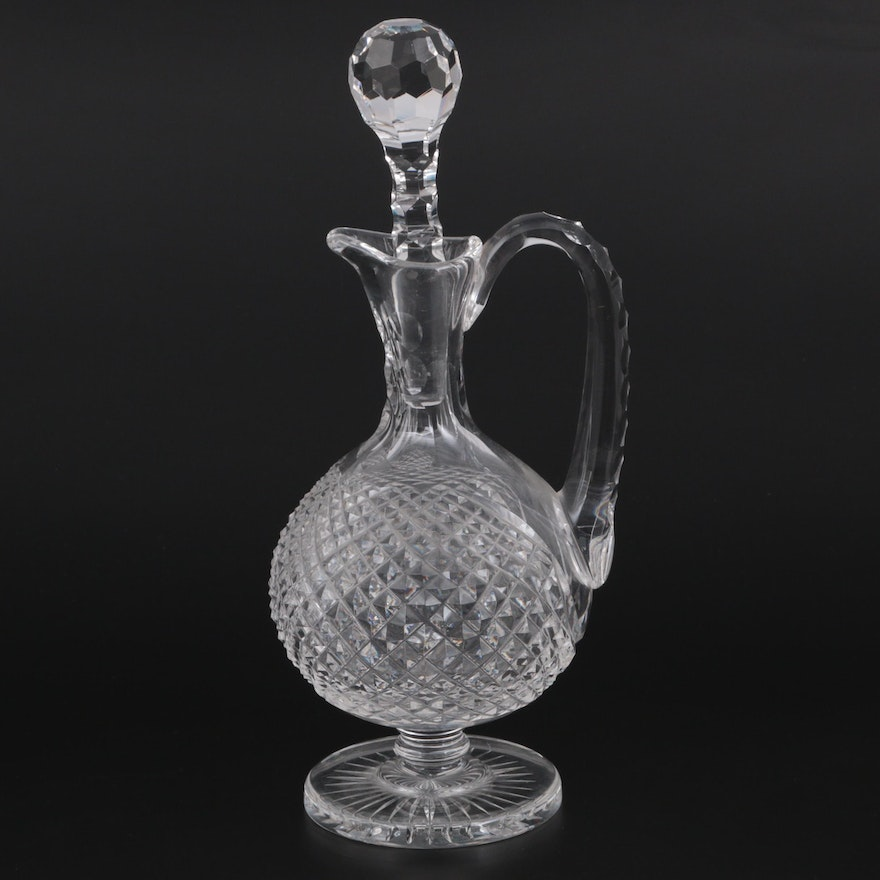 Waterford Crystal Master Cutter Collection Claret Wine Decanter with Stopper