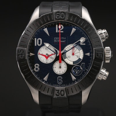 Zenith Defy Classic Aero Flyback Chronograph Limited Edition Wristwatch