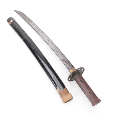 Japanese Style Wakizashi Blade