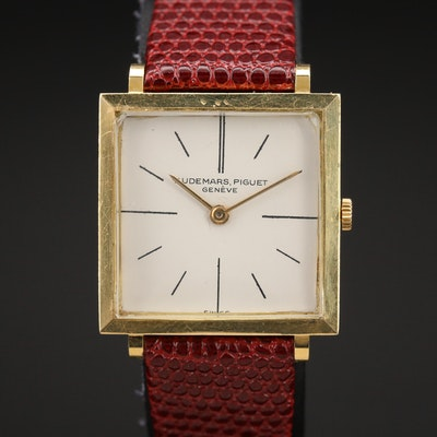 18K Audemars Piguet Stem Wind Wristwatch