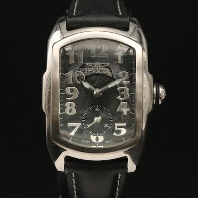 Stainless Steel Invicta Lupah Quartz Wristwatch