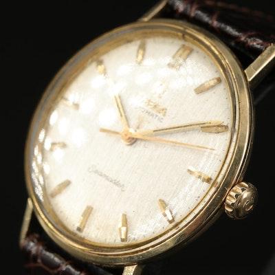 14K Omega Seamaster Automatic Wristwatch