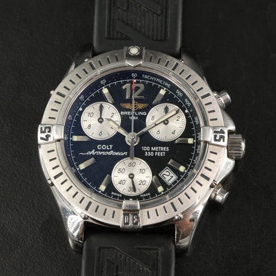 Breitling Colt ChronoOcean Stainless Steel Quartz Wristwatch
