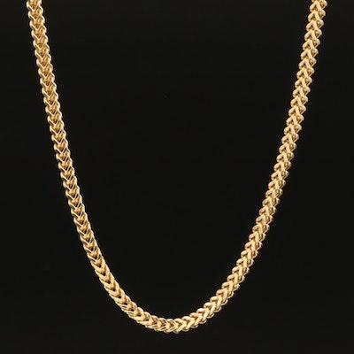10K Foxtail Chain