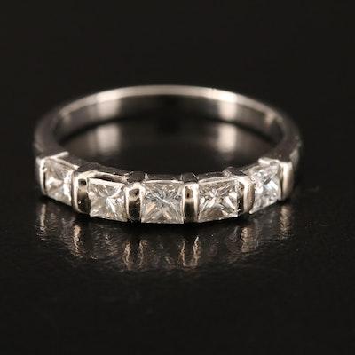 Platinum 0.76 CTW Diamond Band