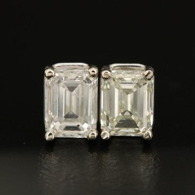 14K 2.01 CTW Diamond Stud Earrings