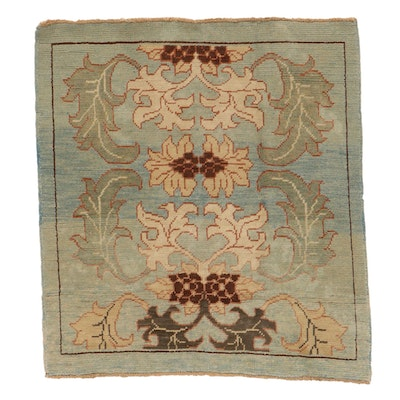 4'3 x 4'8 Hand-Knotted Turkish Donegal Area Rug