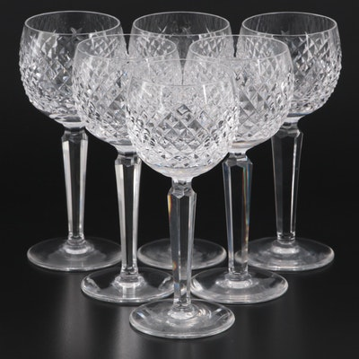 "Waterford Crystal ""Alana"" Hock Wine Glasses"