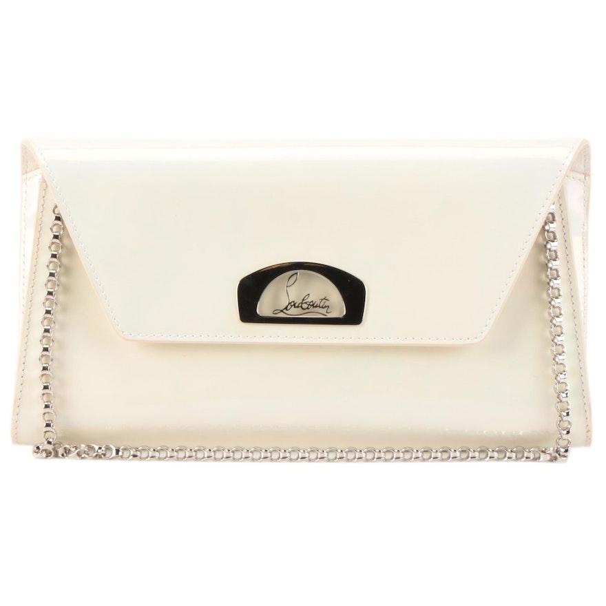 Christian Louboutin Vero Dodat Evening Bag in White Aurore Boréale