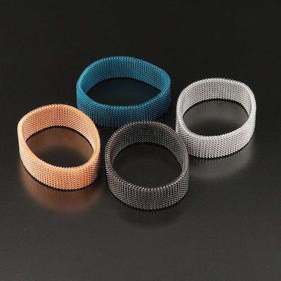 Expandable Mesh Bracelets