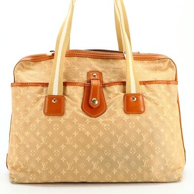 Louis Vuitton Mary Kate Sac Bag in Beige Mini Lin Canvas