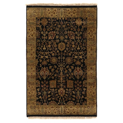 """3'11 x 6'4 Hand-Knotted Amer """"Majnoon"""" Area Rug"""