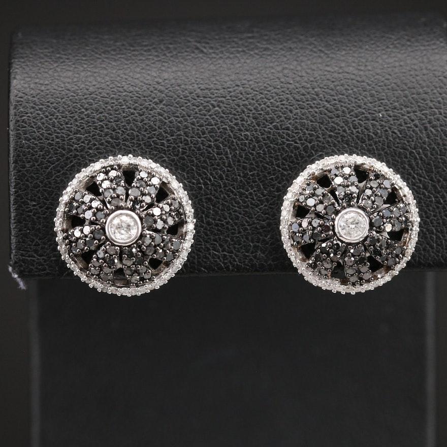 14K 1.50 CTW Diamond Earrings