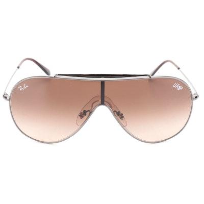 Ray-Ban RB3597 Wings Shield Aviator Sunglasses
