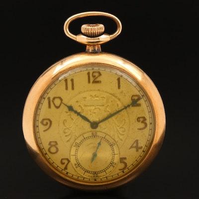 1933 Elgin Gold Filled Pocket Watch