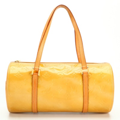 Louis Vuitton Bedford Bag in Monogram Vernis and Vachetta Leather