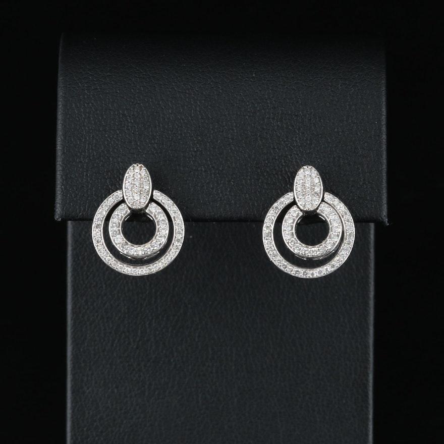 14K 0.74 CTW Diamond Earrings