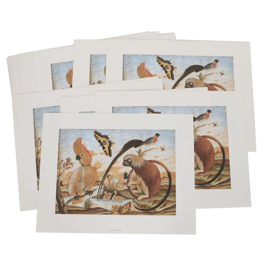 Offset Lithographs of Wildlife, 1991
