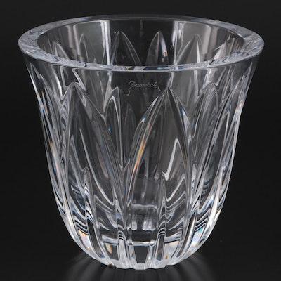 Baccarat Cut Crystal Flower Vase