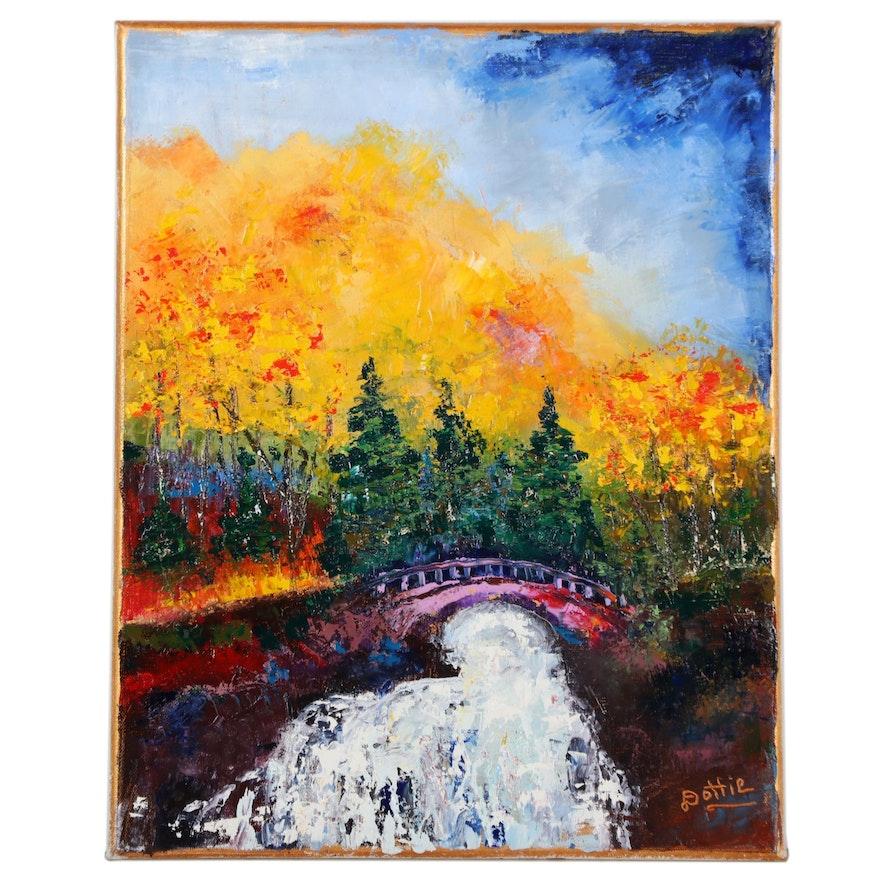 Dottie Abramowski Landscape Oil Painting