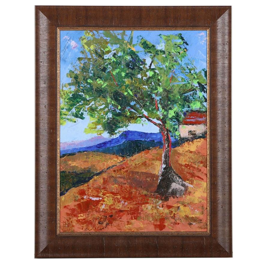 Dottie Abramowski Landscape Oil Painting, 2021