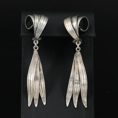 Danish Modernist Aarre & Krogs Drop Earrings
