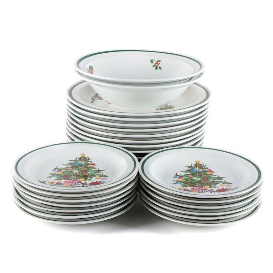 """International """"Noel"""" Stoneware Dinnerware"""