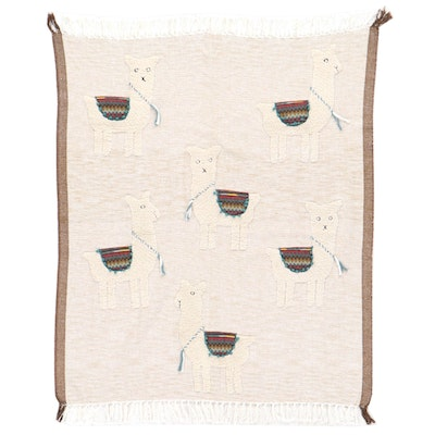 Artistic Accents Llama Tapestry