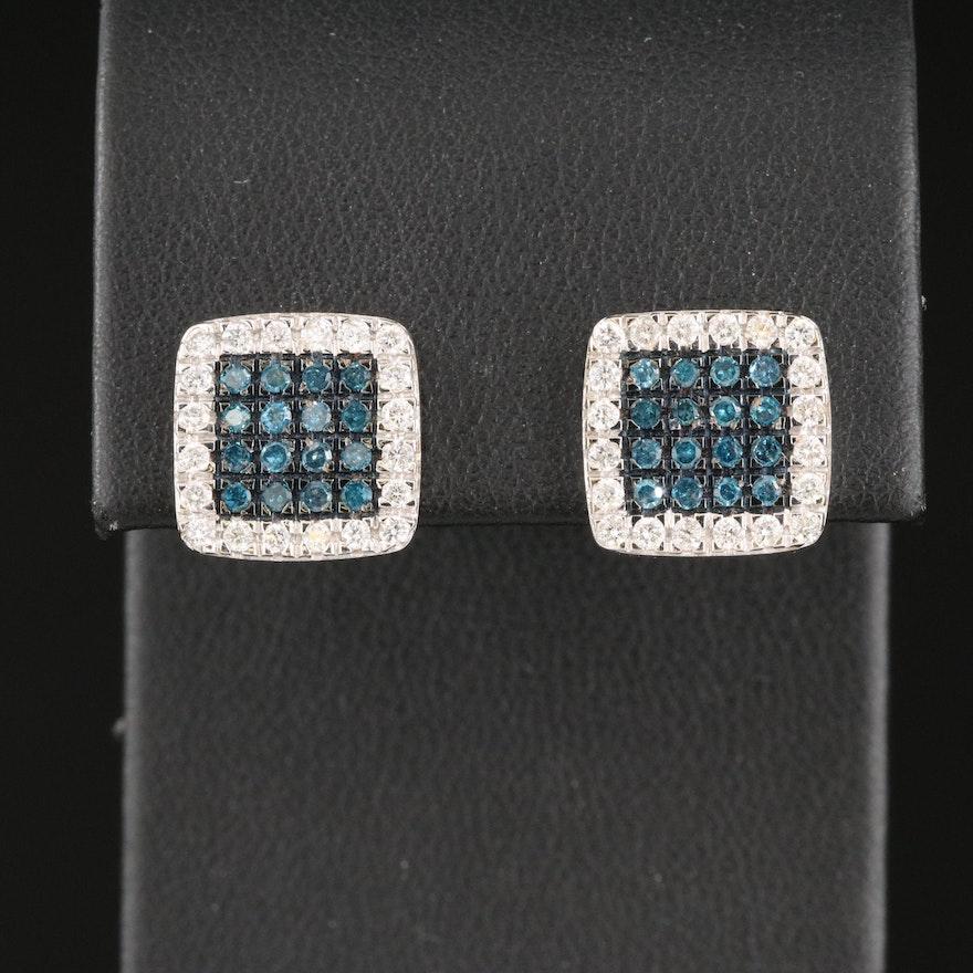14K 1.02 CTW Diamond Earrings