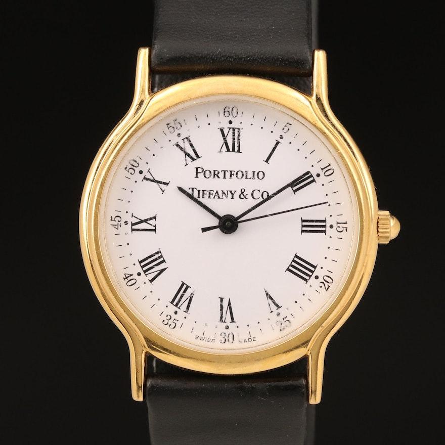 Tiffany & Co. Portfolio Wristwatch