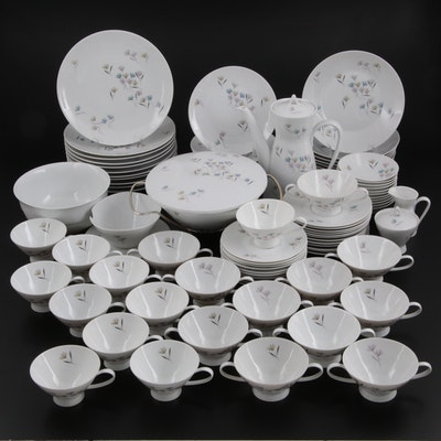 """Mid Century Modern Rosenthal """"Blutenspiel"""" and """"Avenue""""  China Tableware"""