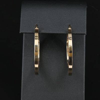 Italian 14K Hoop Earrings