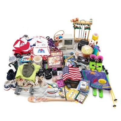 American Girl Doll Accessories Including Clothing, Hair Accessories and Computer