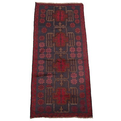 2'9 x 6'5 Hand-Knotted Caucasian Village Area Rug