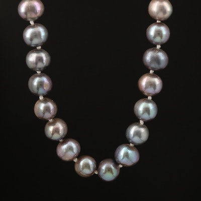 Choker Length Pearl Necklace