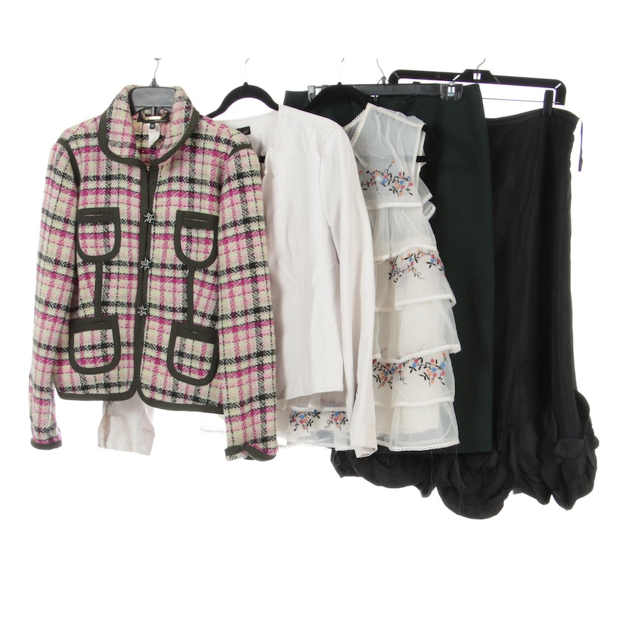 Les Copains, Baccini, and Other Skirts, Blouse, and Jackets