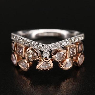18K 1.13 CTW Diamond Ring