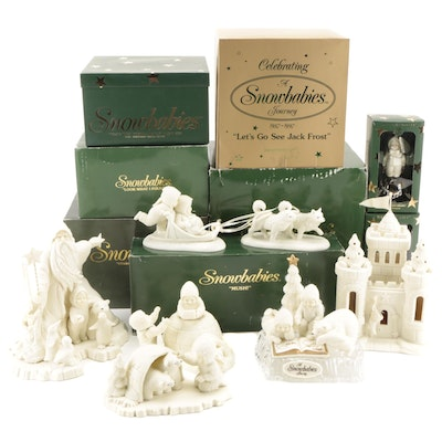 """Department 56 """"Snowbabies"""" Bisque Figurines and Ornaments"""