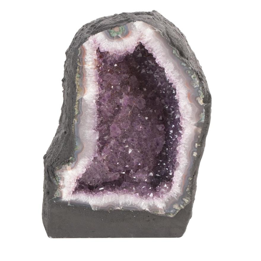 Amethyst Cathedral Geode Specimen