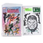 """Mark Ruffalo Signed """"The Incredible Hulk"""", Artists Signed """"The Women of Marvel"""""""
