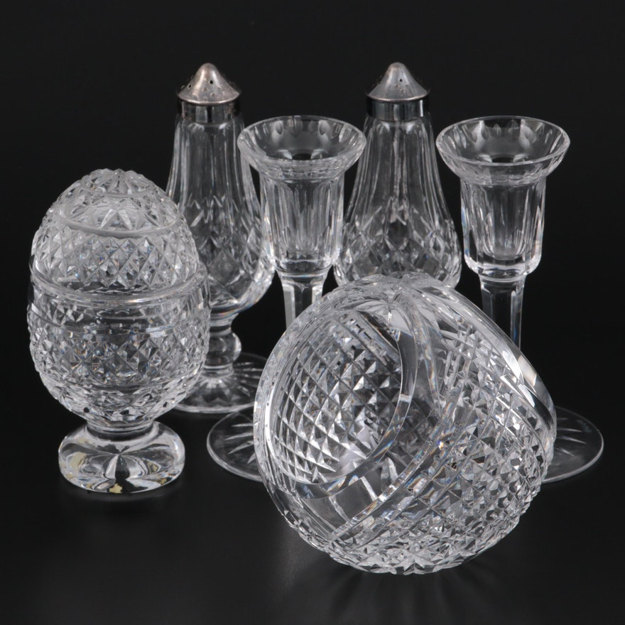 """Waterford Crystal """"Lismore"""" Shakers and Giftware Table Accessories"""