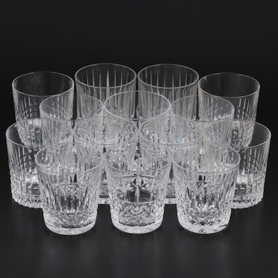 """Towle """"Serenade"""" Double Old Fashioned Glasses with Other Old Fashioned Glasses"""