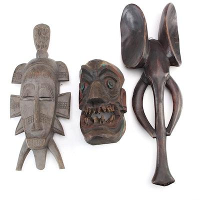 Senufo And Bakanki Inspired Masks And More