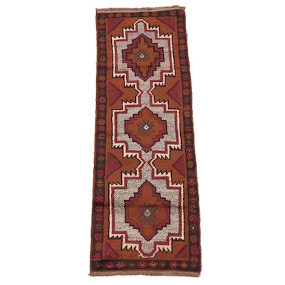 2'3 x 7'1 Hand-Knotted Northwest Persian Carpet Runner